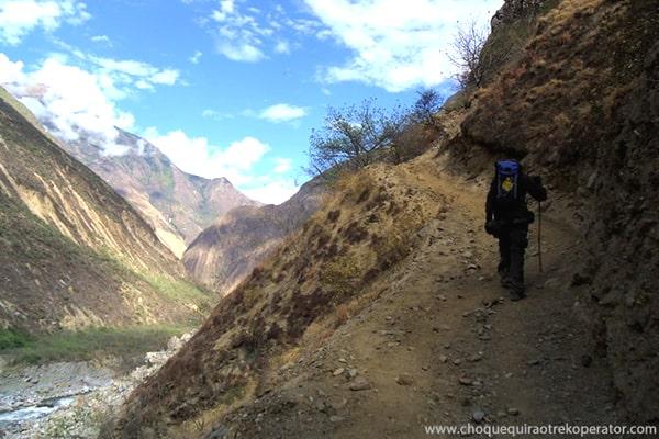 choquequirao express trekking tour