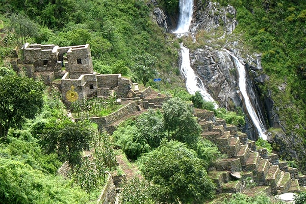 choquequirao water falls